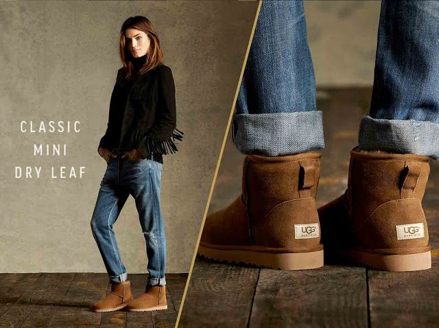 2d42051d276 boho-chic Ugg in Dry Leaf Color | Fashion in 2019 | Ugg mini boots ...