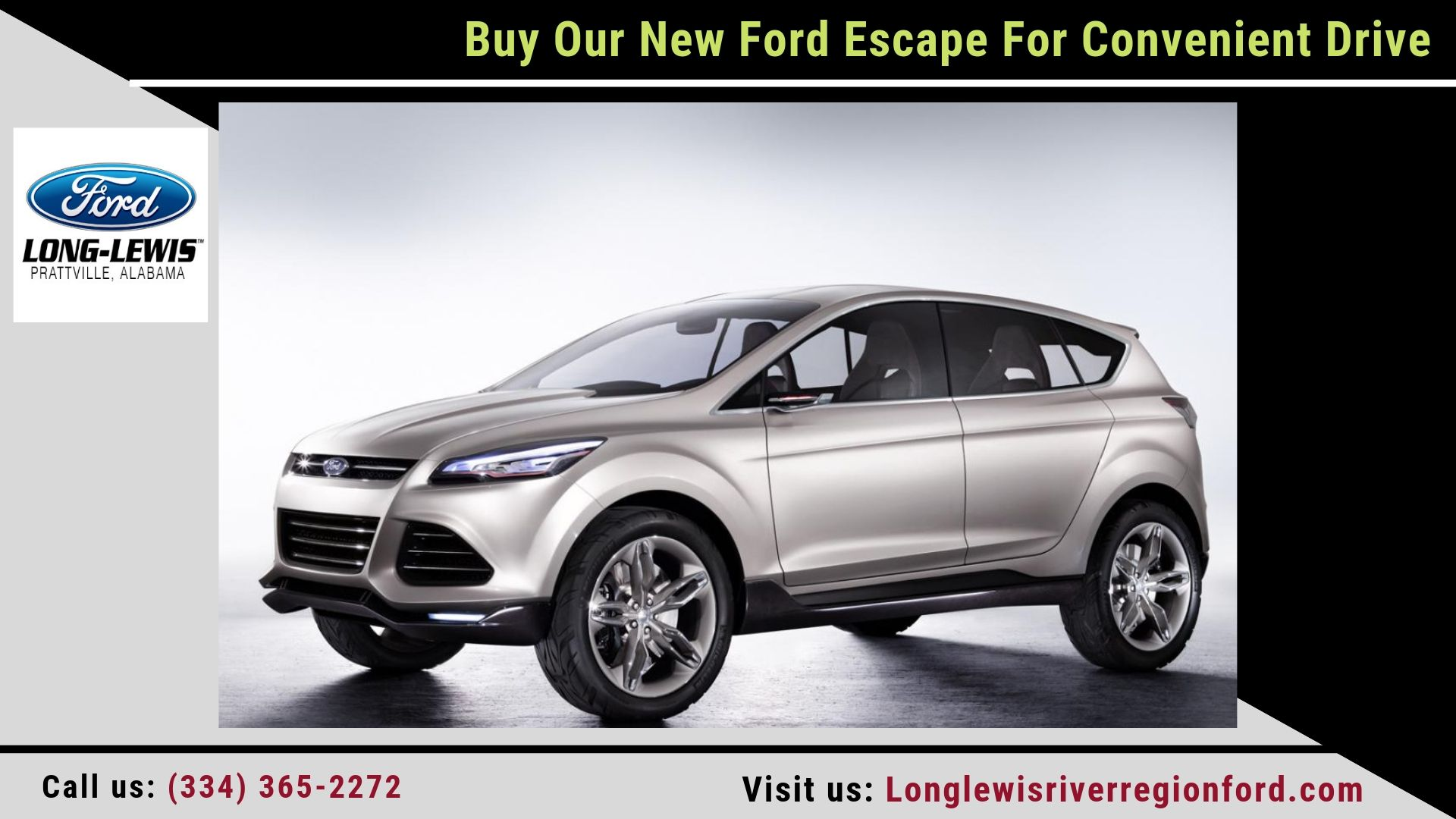 Buy Our New Ford Escape For Convenient Drive Ford Expedition Escape Car Ford Escape
