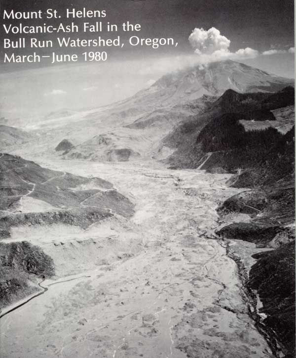 1980 Report cover showing Mt. St. Helens