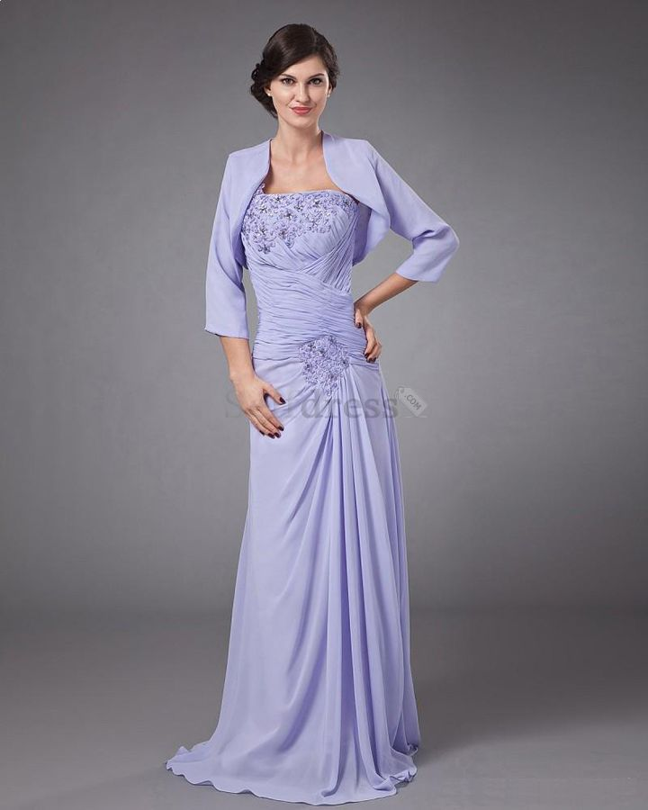 Mother Of The Bride Summer Wedding Dresses With Sleeves