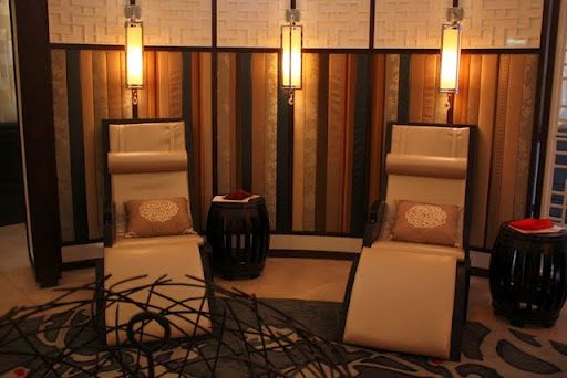Do We Have Room To Put Zero Gravity Chairs In A Circle Round The Room Zen Room Spa Decor Garden Room
