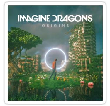 Origins Stickers By Odettes Redbubble Imagine Dragons Dragon Origin Imagine