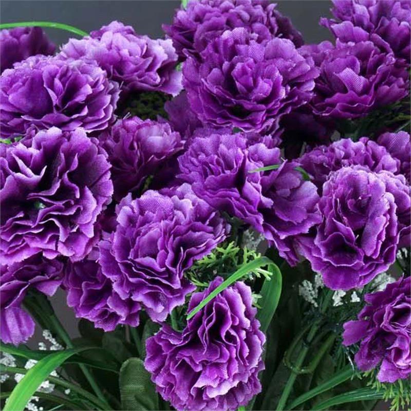 252 Carnation Flowers Purple Efavormart Carnation Flower Carnations Mini Carnations