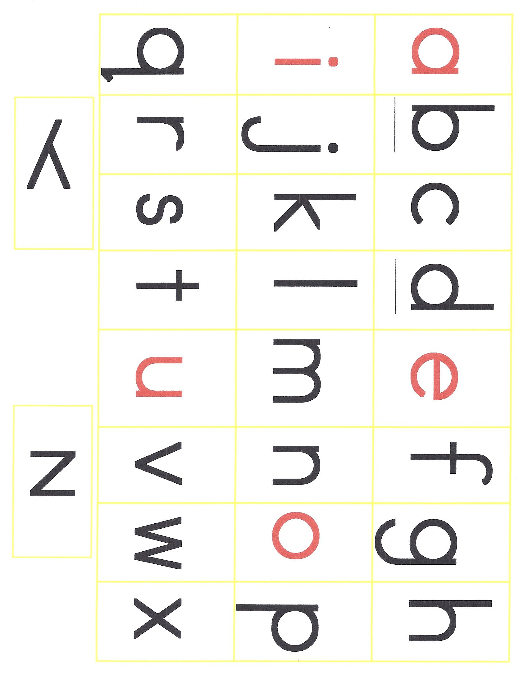 Alphabet Print Out Printable Cut Out Laminate And Make Words