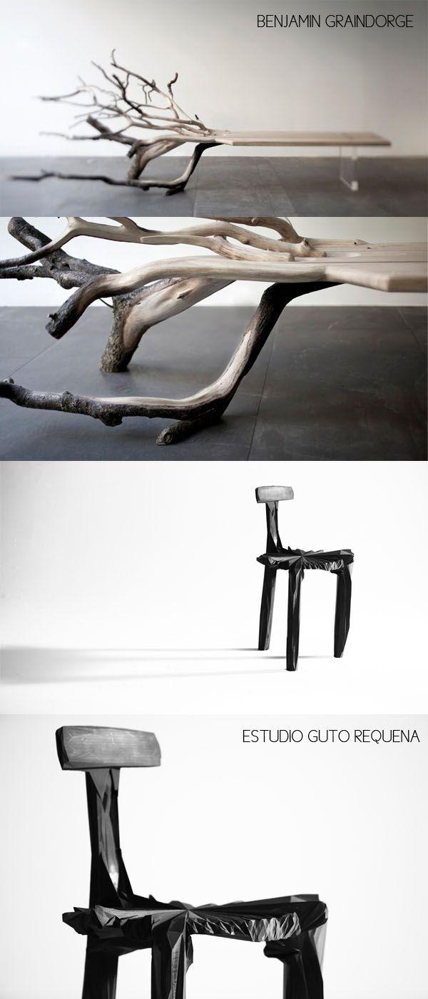 Benjamin Graindorge Banc Banco Guto Requena Chaise Chair Silla  # Muebles Requena Requena