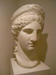 Copia de la llamada Juno Ludovisi.Casa de Goethe.Foto R.Puig