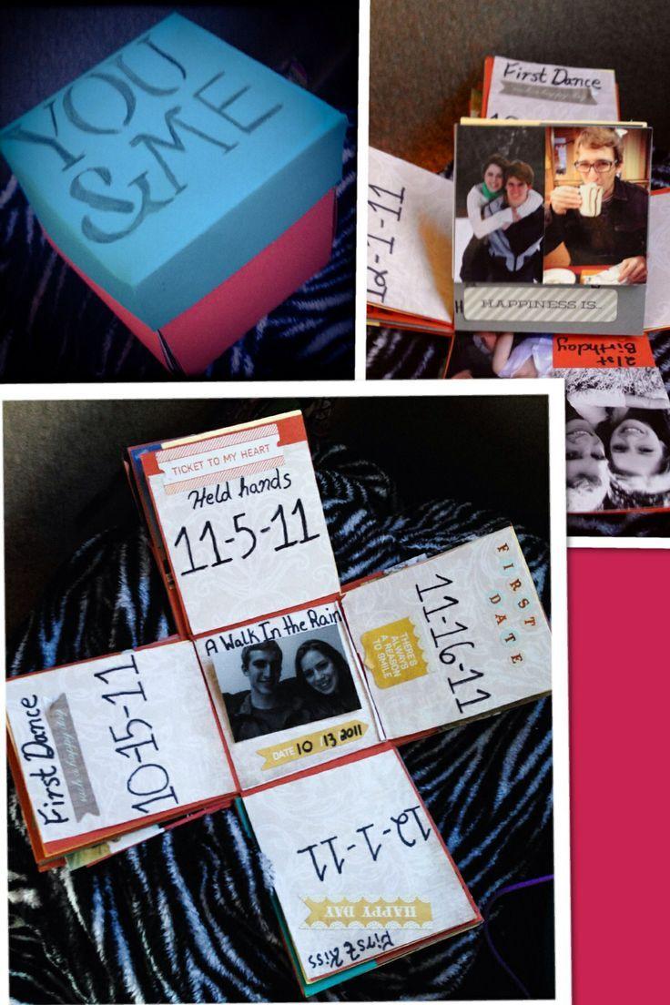 Handmade Anniversary Gift Ideas For Boyfriend