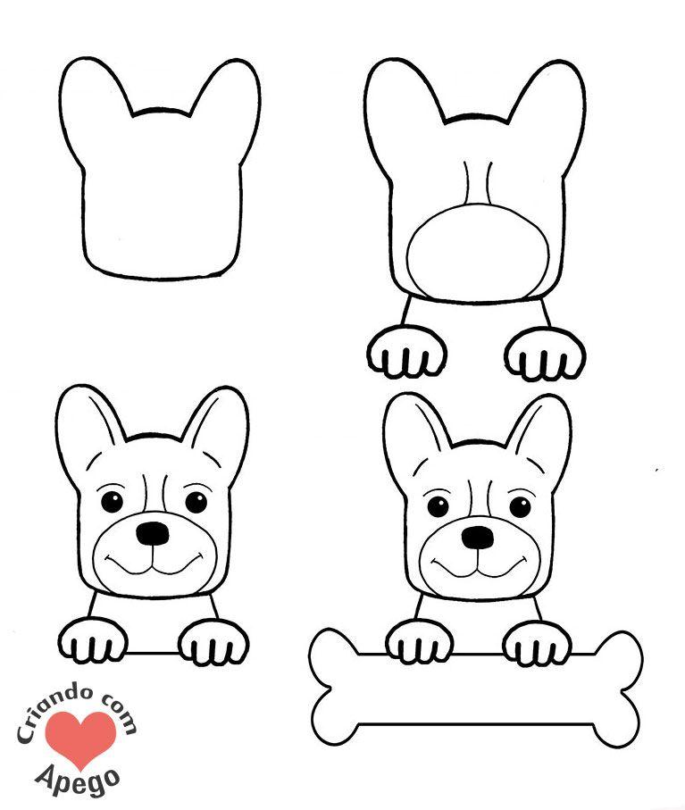 Desenhos para desenhar fáceis passo a passo | Atividades para ...