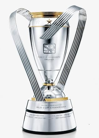 Image result for trofi piala MLS Cup