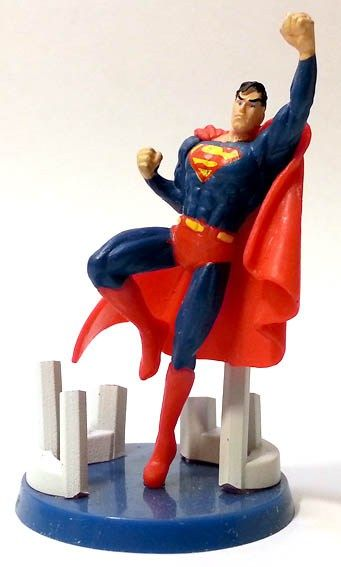 "Superman dalla Collezione ""Justice League"" (DC Comics) della Edibas Collection. #Miniatures #Figures #DCComics #Superman"