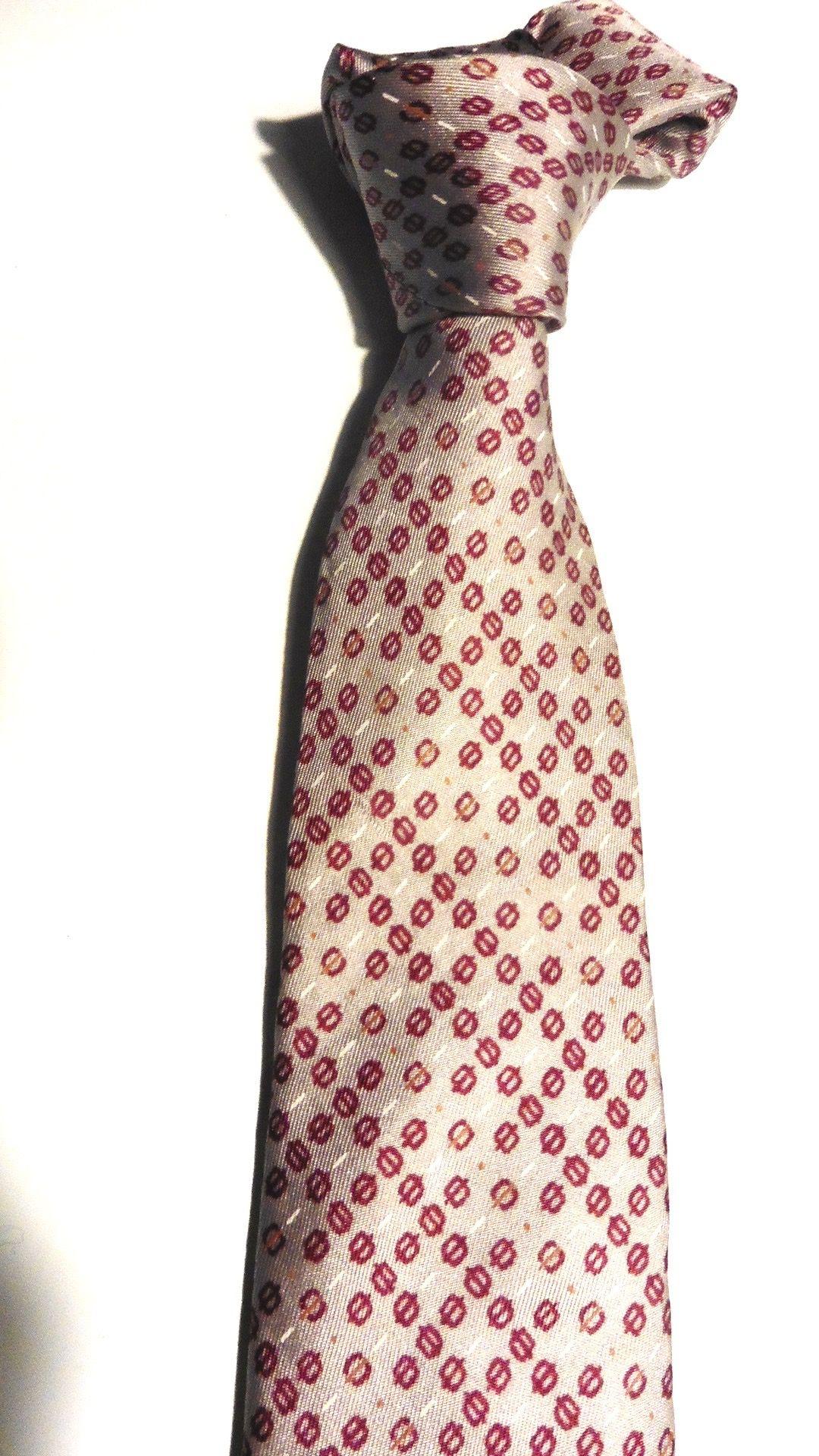 33b8a46958200 CRAVATE PACO RABANNE PARIS SOIE MOTIF géométrique P. ETAT | cravates ...