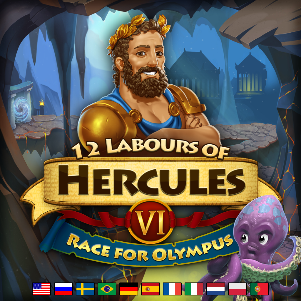 12 Labours Of Hercules Vi Race For Olympus Platinum