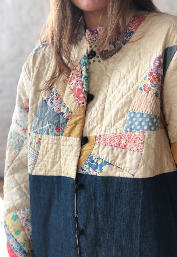 Bode Quilt Patchwork Jacke | Upcycling kleidung ...