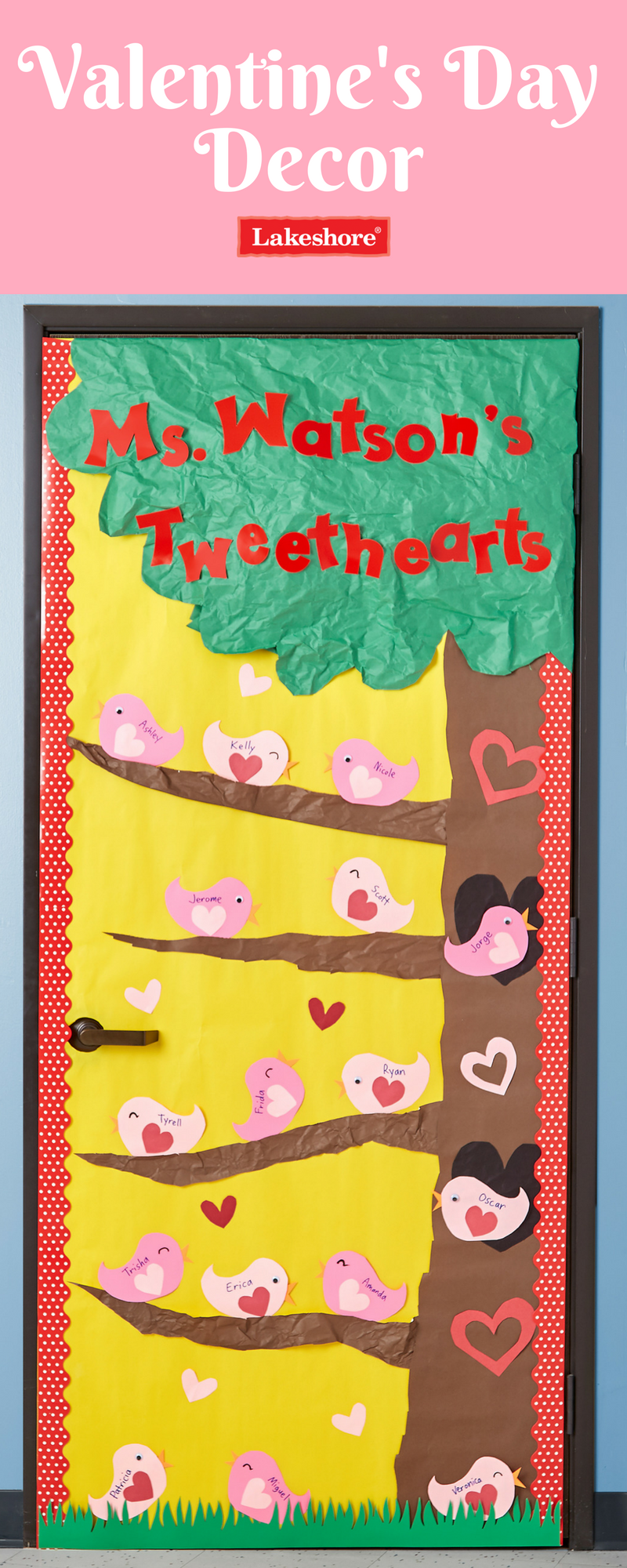 Classroom window decoration  Show your uctweetheartsud a little love this Valentineus Day with an