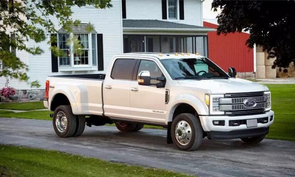 2018 ford 3 4 ton truck. exellent 2018 allnew 2017 ford super duty platinum crew cab class 3 dualrearwheel  pickup is the topoftheline luxury model and tow boss of lineup intended 2018 ford 4 ton truck