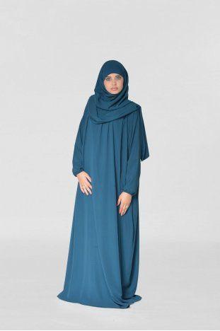 abaya jilbab ajman avec echarpe muslim pinterest jilbab mode hijab et vetements. Black Bedroom Furniture Sets. Home Design Ideas