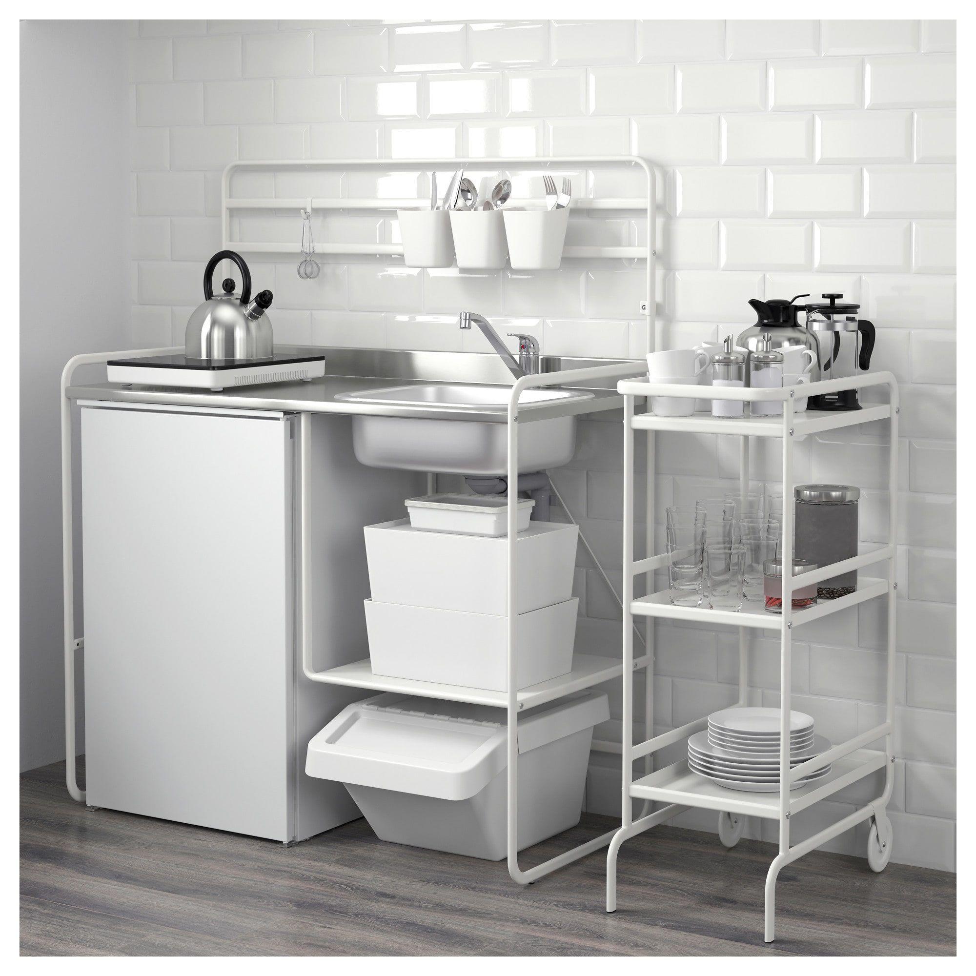 Ikea Sunnersta temporary kitchen sink