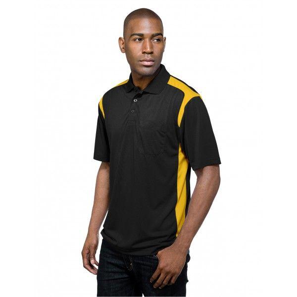 bbe8da1a Tri-Mountain Blitz Pocket K145P Polyester Knit Golf Shirt | Tri ...