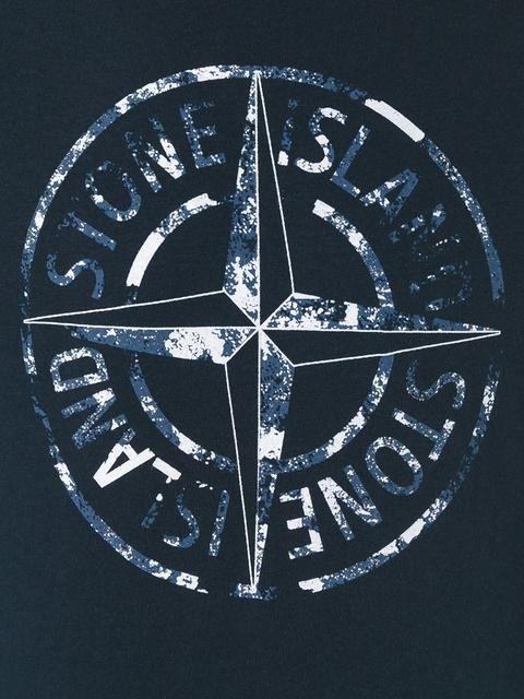 купить Stone Island Compass Print T Shirt In 2019 Stone