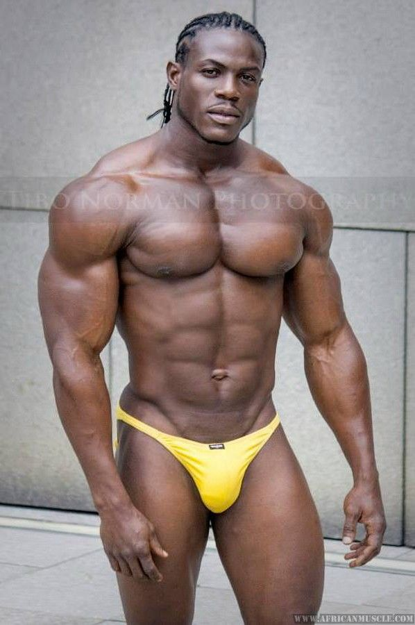 big black muscle men in underwear
