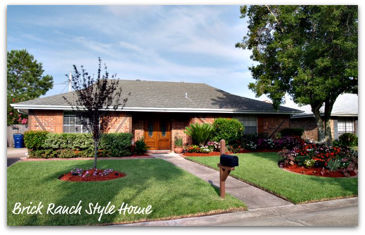 Enjoyable Brick Ranch Houses New Orleans Homes And Neighborhoods Brick Largest Home Design Picture Inspirations Pitcheantrous