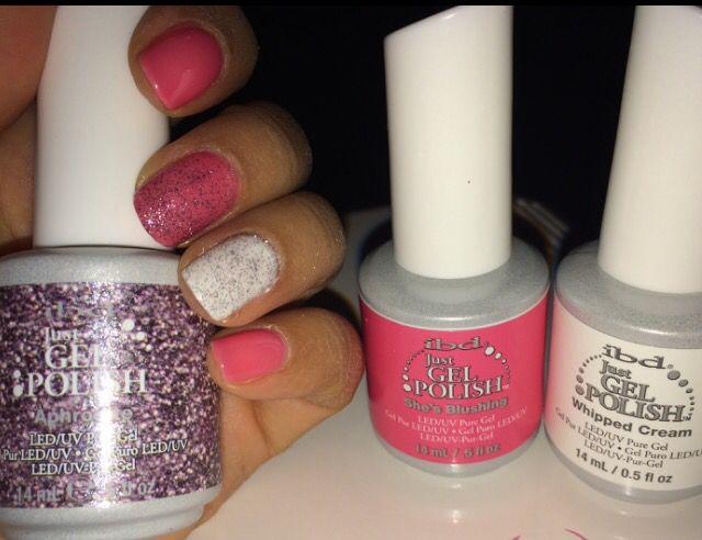 Pink sparkles ibd gel nails diy ibd gel nails pinterest explore pink sparkles diy and more pink sparkles ibd gel nails solutioingenieria Images