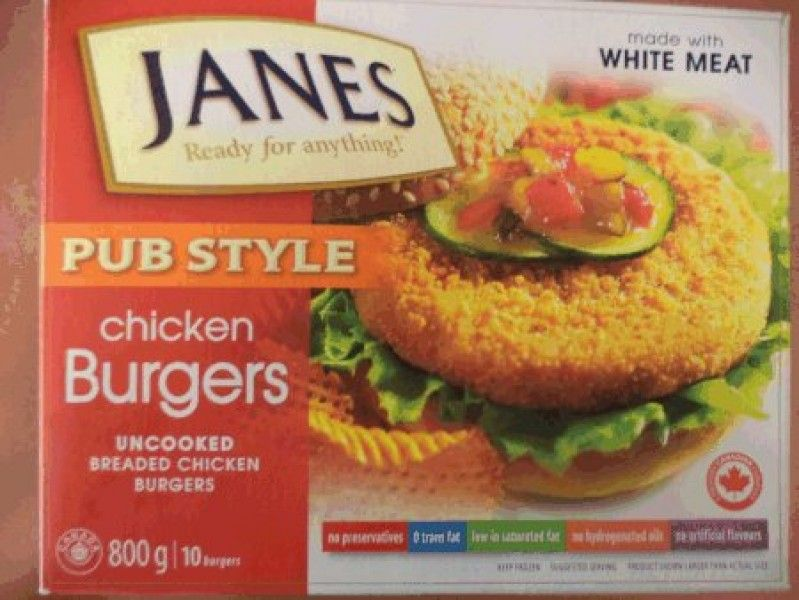 Recalled Janes Brand Frozen Uncooked Breaded Chicken Products