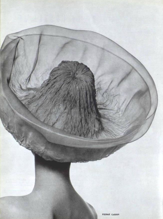 1962 Pierre Cardin hat