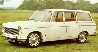 1965 Hillman Super Minx Wagon Classic Marques Hillman