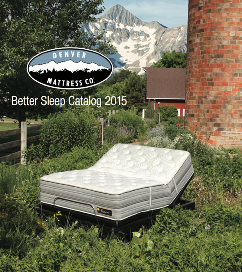 Browse the Denver Mattress Better Sleep Catalog by