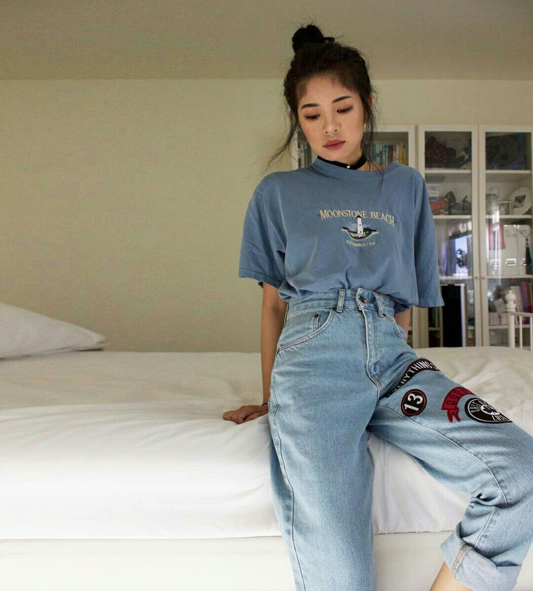 thebritttt  fashion  pinterest  vintage jeans thrift