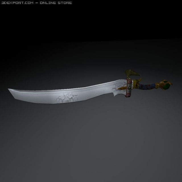 3D Model Talon Sword c4d, obj, 3ds, fbx, ma, lwo 32037