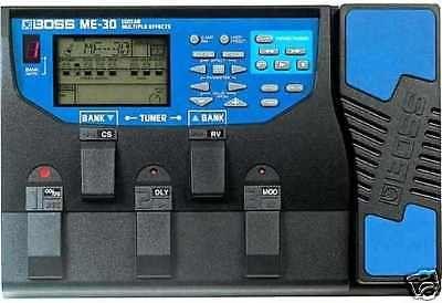 boss me 30 guitar multi effects pedal manual power supply 20 50 rh pinterest com au boss me 30 manual pdf boss me 30 manual free download