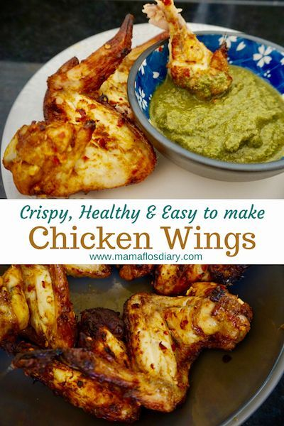 Crispy Chicken Wings Recipe Chicken Food Recipes Pinterest