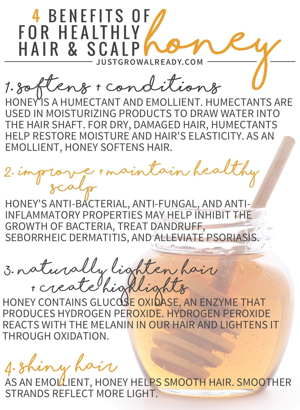 4 benefits of honey for healthy hair and scalp | honey hair