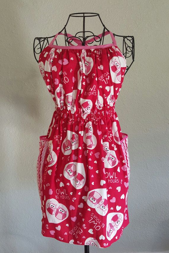 Mother And Daughter Valentine Aprons With By BrittysChicBoutique