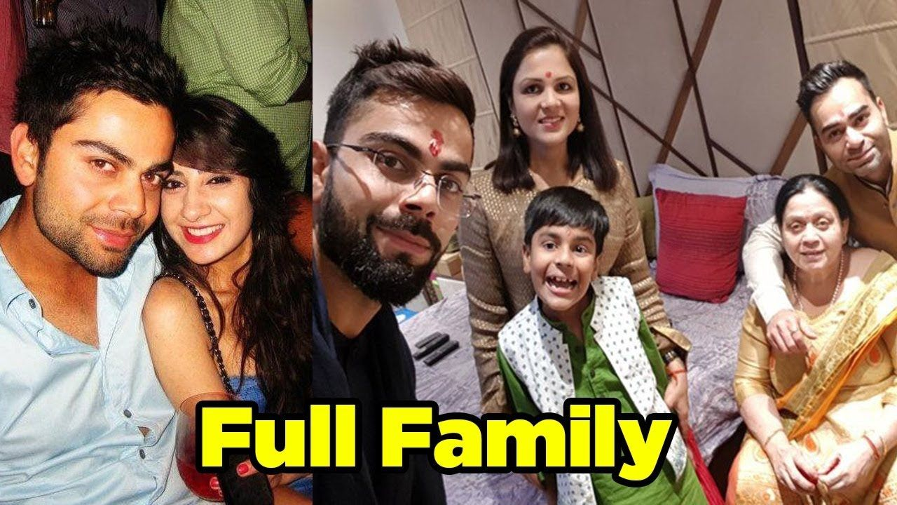 Virat Kohli (Anushka Sharma's Husband) With His Family