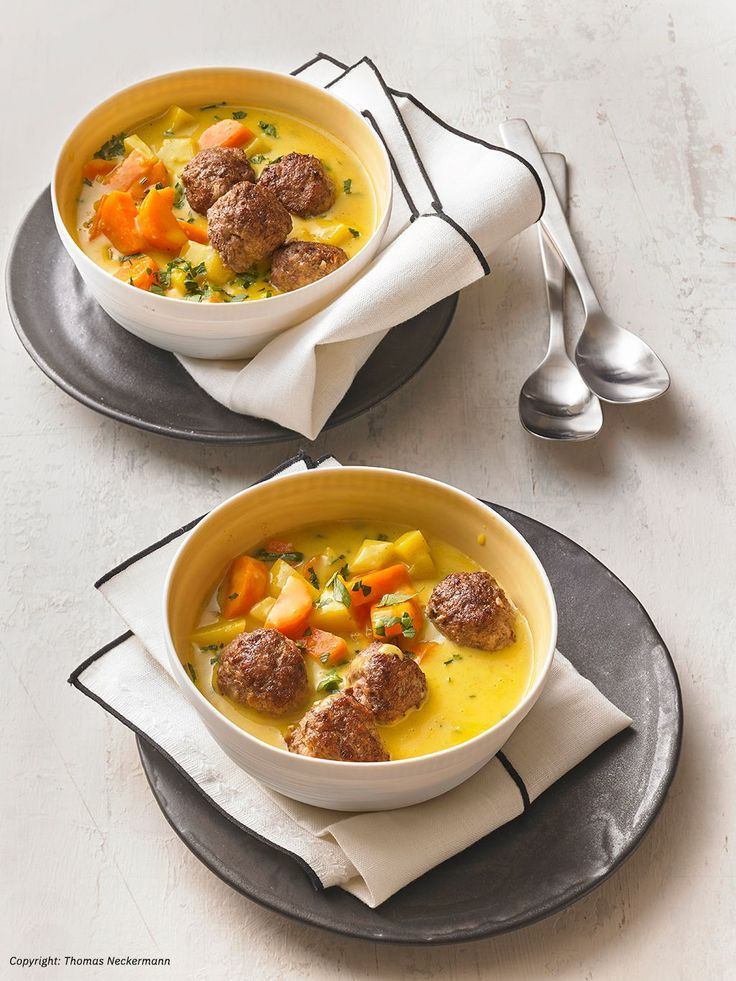 Photo of Potato and carrot stew with meatballs from DP16MH | chef