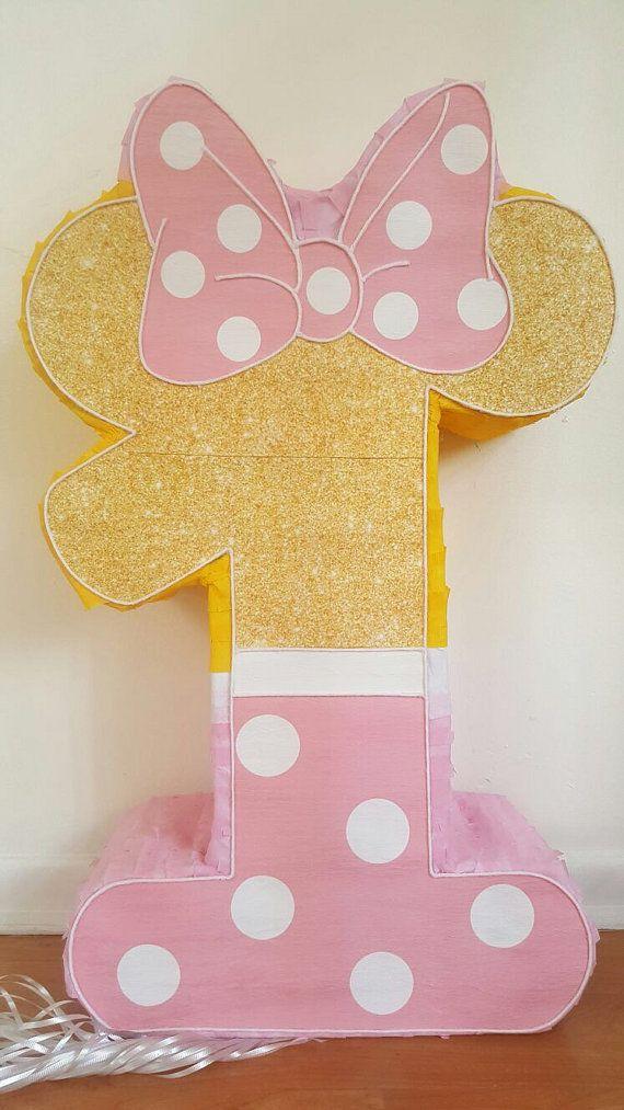 Fiesta de piñatas increíble Minnie Mouse número 1 por Pinatadepot f2c34bc2ad2