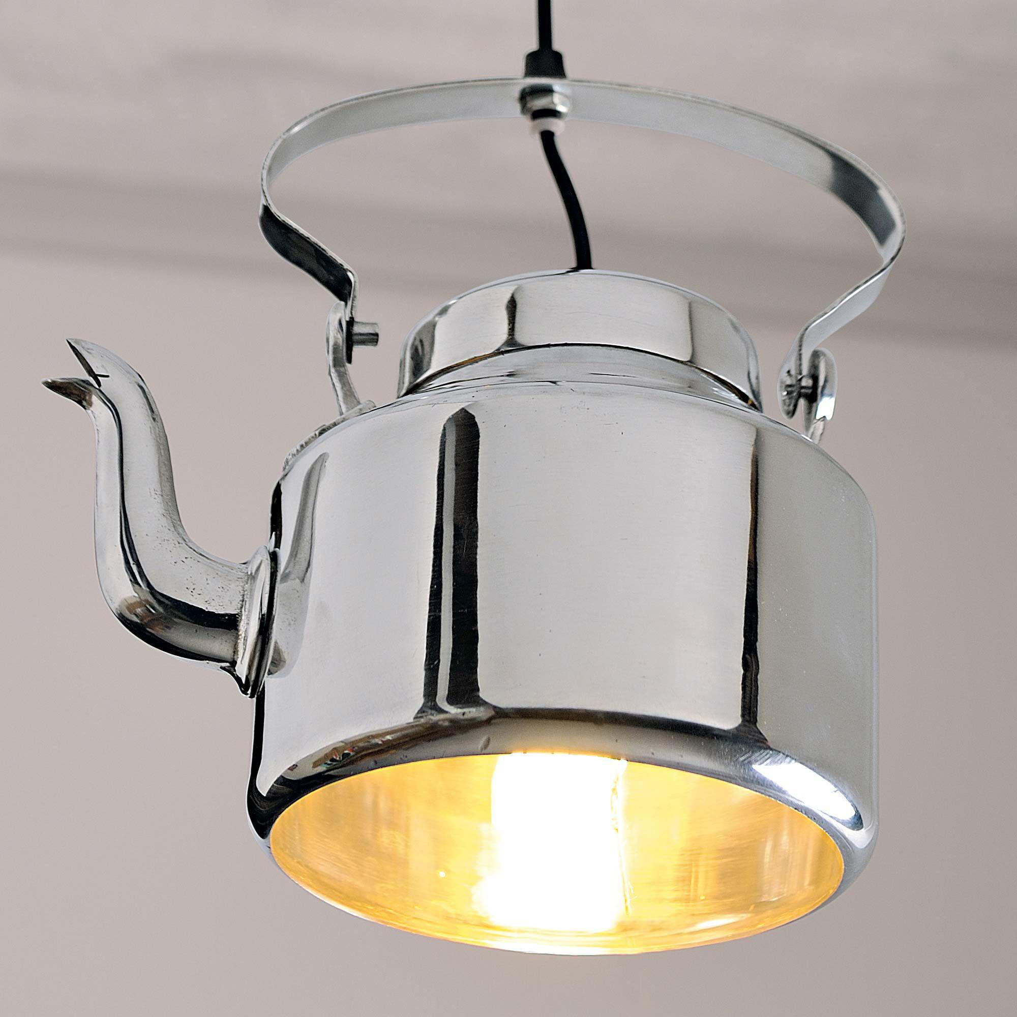 deckenlampe wasserkessel gingar moebel leuchte. Black Bedroom Furniture Sets. Home Design Ideas