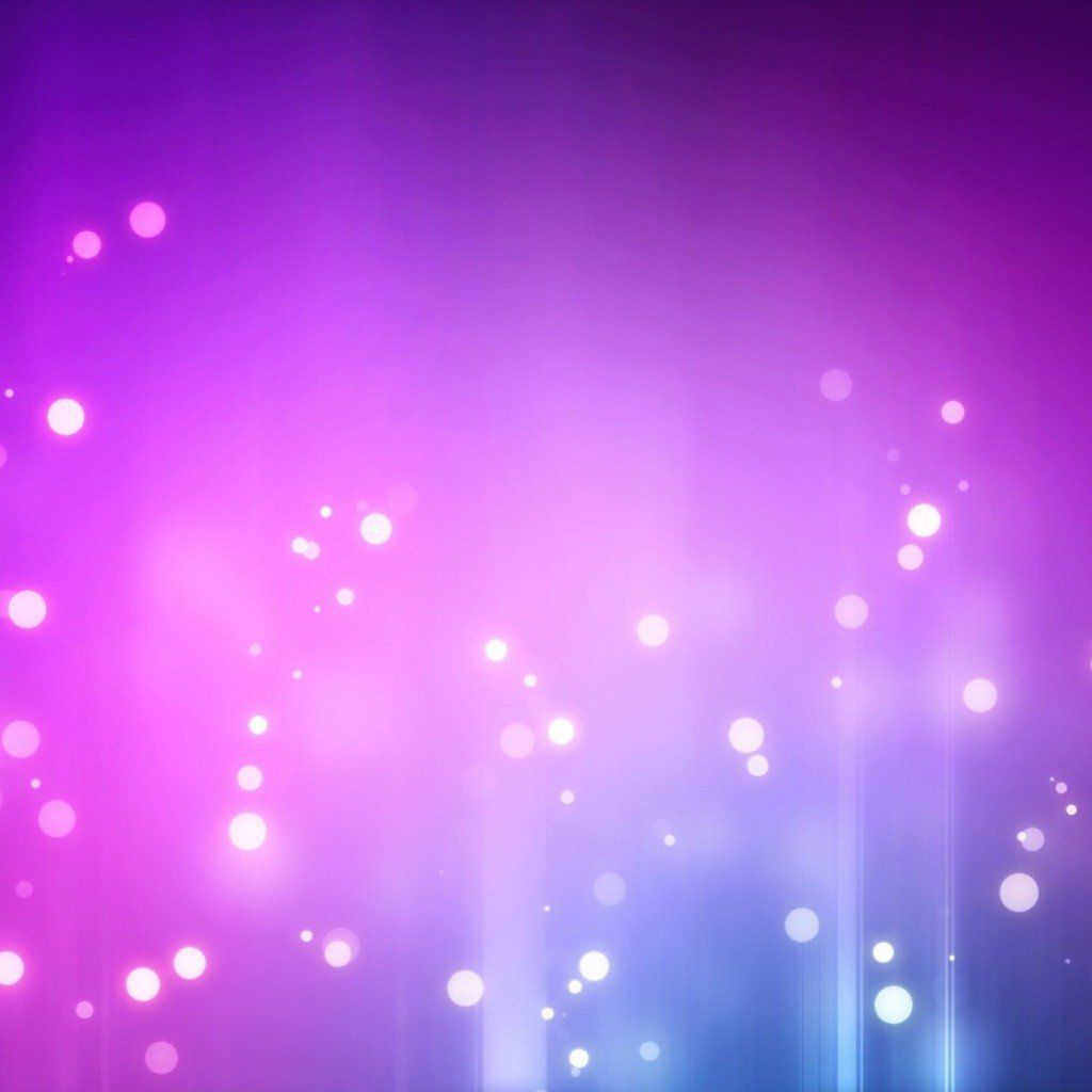 Purple Flow Abstract Bokeh Ipad