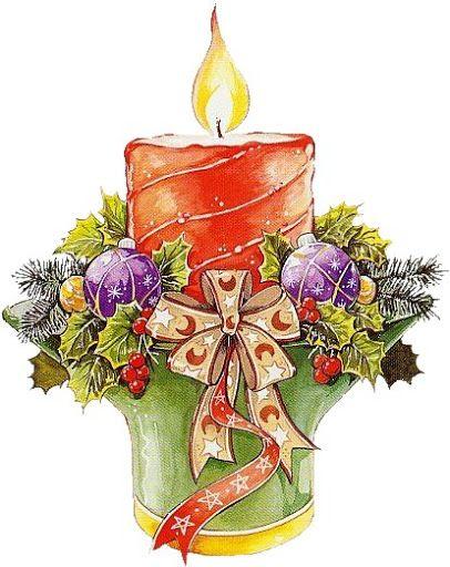 Картинках днем, символы рождества для открытки
