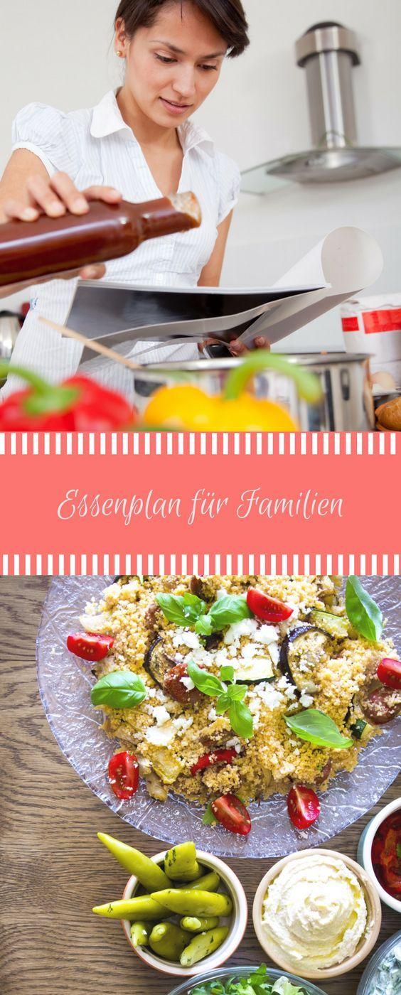 Essenplan f r eine woche speiseplan f r familien ideen rund ums kochen kochen rezepte - Kochen fur kinder thermomix ...