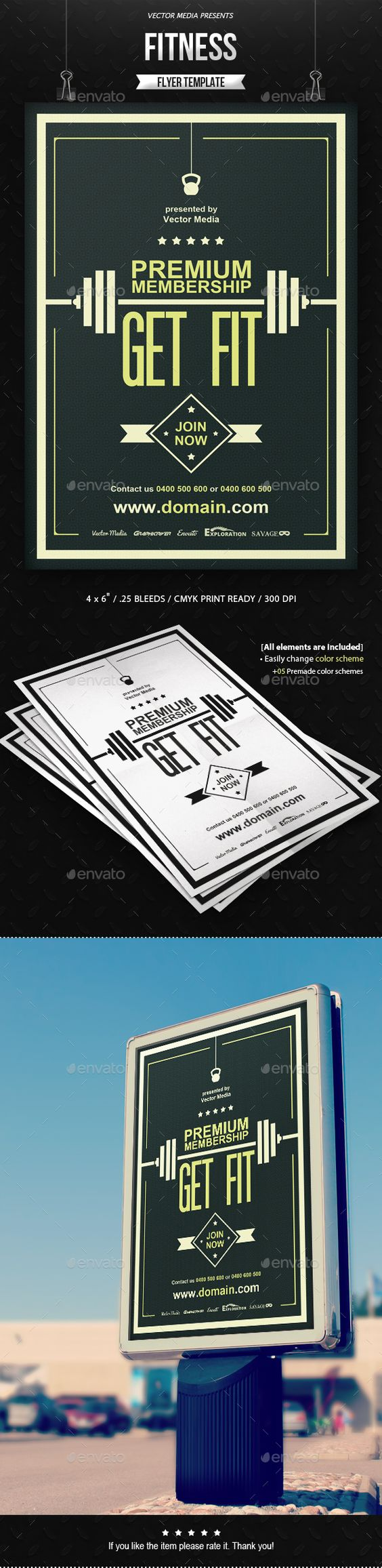 Fitness Flyer Sports Events Best Fitness Flyer Template