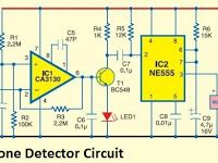 Cell phone detector circuit diagram electronics pinterest cell phone detector circuit diagram ccuart Images