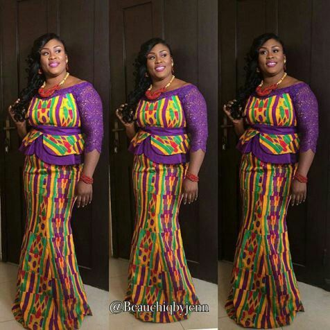 Gorgeous Kente African Fashion Ankara Kitenge African Women