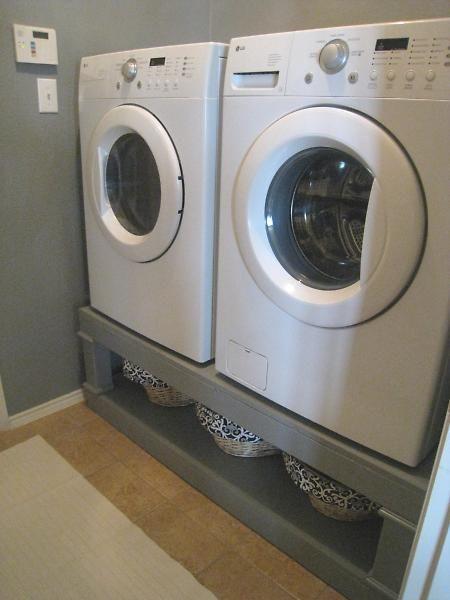 pi destal pour lave linge tuto projets essayer. Black Bedroom Furniture Sets. Home Design Ideas