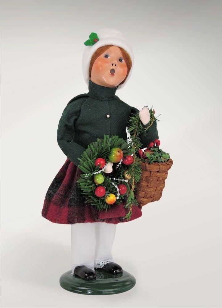 Carolers Evergreen Girl
