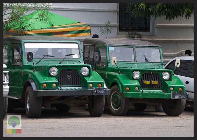 Mazda Jeep The 1960 S 4 4 Used By The Myanmar Military And