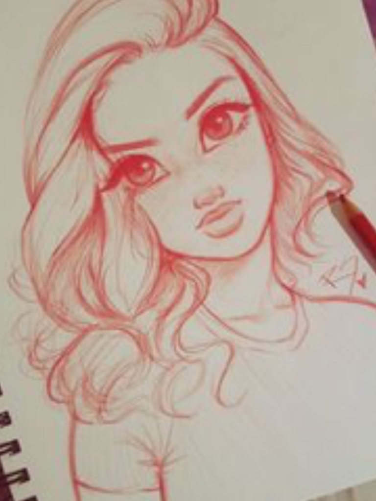 Pin by addison king on art pinterest drawings drawing for Cute drawings for a girlfriend